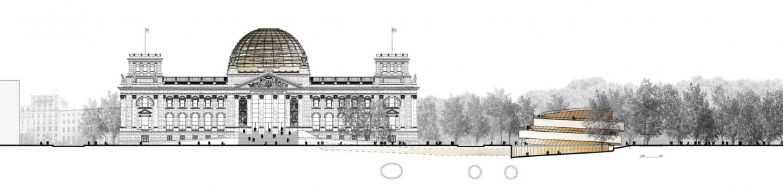 2016_berlin-pavillon-daccueil-visiteurs-reichstag_plan-masse_coupe-transversale